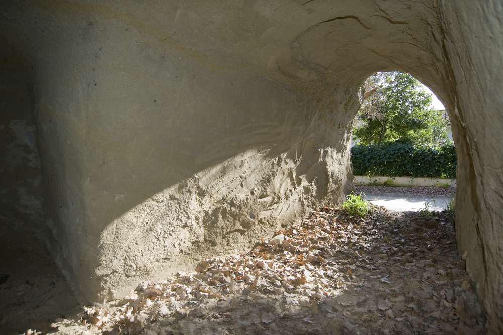 Una delle grotte