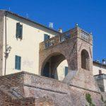 Arco rampante sulla seconda cinta muraria
