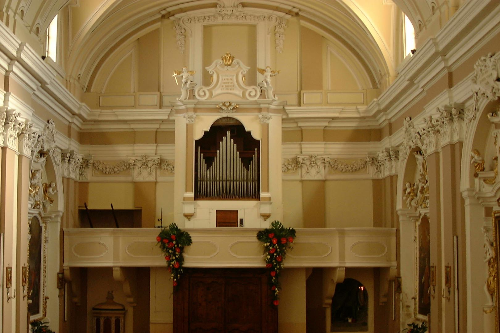 Choir loft with the organ by G. Callido, 1776