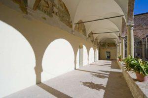St Augustine monument complex, cloister