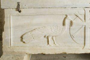 Dettaglio sarcofago
