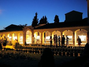 Nighttime event at Bastione Sant'Anna