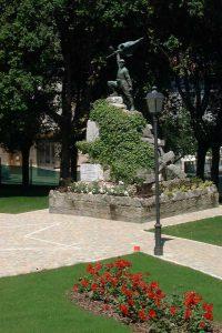 Monumento ai Caduti nel Parco della Rimembranza