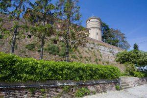 Inner ring of walls at Largo Neviera