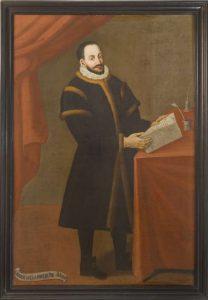 Ritratto di Giovanni Della Rovere, autore ignoto, sec. XVII