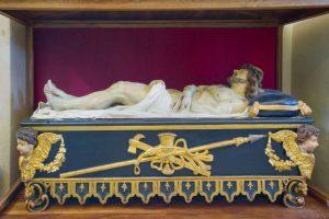 Statua del Cristo Morto, sec. XVIII