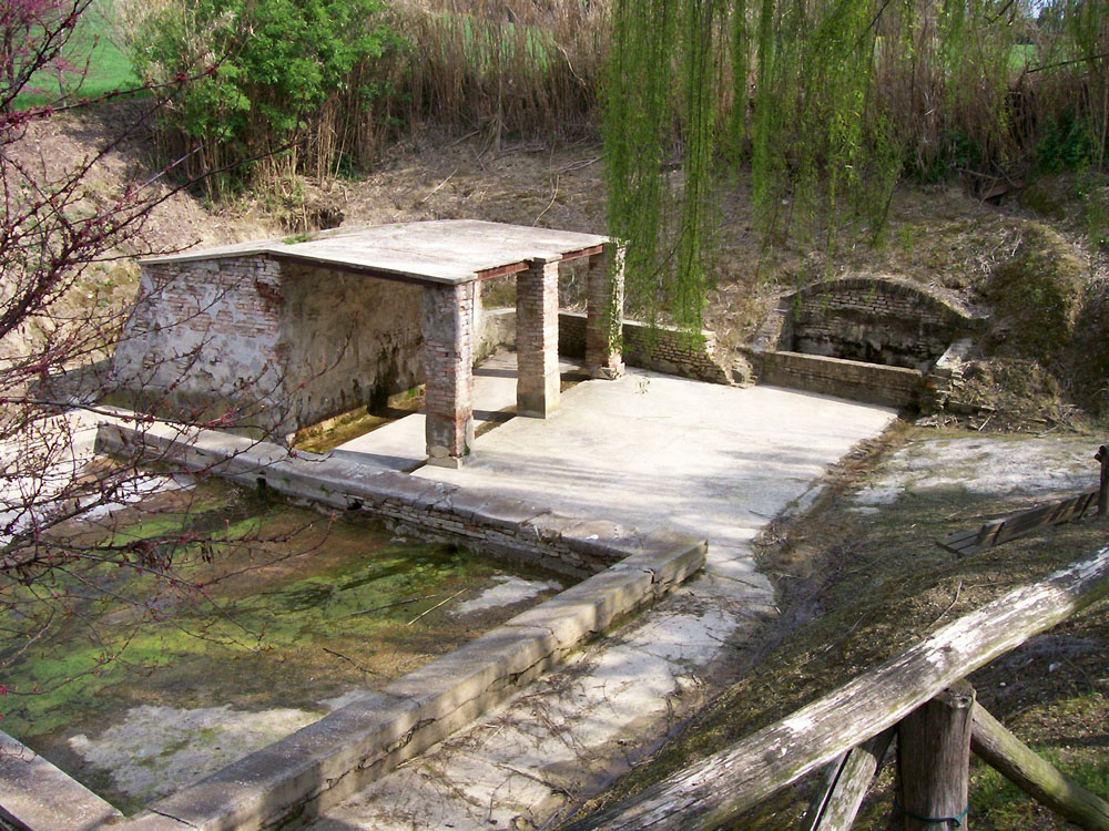 View of Fonte Grande spring